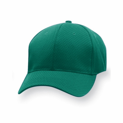 Augusta Sportswear Men's Cap: 100% Polyester Athletic Sport Flex Mesh 6-Panel Low Profile (6232)