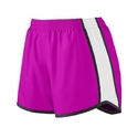 Augusta Sportswear Junior Women's Shorts: 100% Polyester Colorblock Pulse (1265)