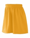 Augusta Sportswear Women's Shorts: 100% Polyester Tricot Mesh 5-inch  with Inside Drawcord (858)