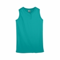 Augusta Sportswear Women's Softball Jersey: 50/50 2-Button Sleeveless (550)