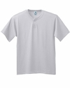 Augusta Sportswear Youth Baseball Jersey: 50/50 2-Button (644)
