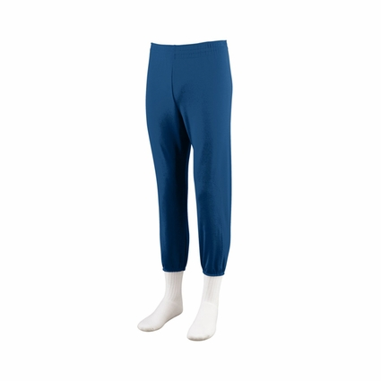 Augusta Sportswear Youth Baseball Pants: 100% Polyester Double Knit Pull-Up with Inside Drawcord (804)
