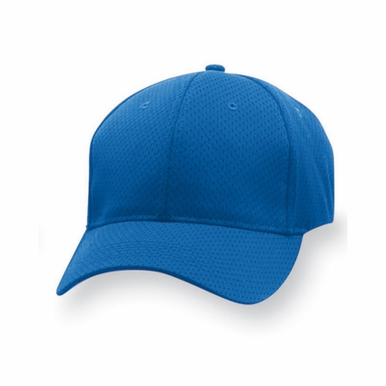 Augusta Sportswear Youth Cap: Sport Flex 100% Polyester Athletic Mesh 6-Panel Low Profile (6233)