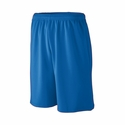 Augusta Sportswear Youth Shorts: 100% Polyester Wicking Mesh Long Length Athletic Full-Cut 9-Inch (809)