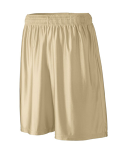 Augusta Sportswear Youth Shorts: 100% Polyester Dazzle Long 9-Inch with Inside Drawcord (927)