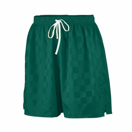 Augusta Sportswear Youth Shorts: 100% Nylon Checkerboard Long Length 6-inch  Soccer (AG431)