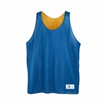 Augusta Sportswear Youth Tank Top: Reversible Mini-Mesh League (137)