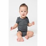 Baby Rib Short-Sleeve One-Piece: (4001)
