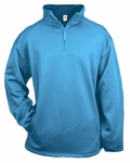 Badger Sport Men's Jacket: 100% Polyester Fleece 1/4-Zip Pullover (1480)