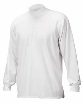Badger Sport Men's Mock Turtleneck: Blended B-Hot Heavyweight Long Sleeve (4755)