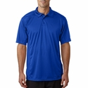 Badger Sport Men's Polo Shirt: 100% Polyester Color Block Waffle Weave Panels BT5 (4440)