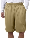 Badger Sport Men's Shorts: 100% Polyester B-Core 10-Inch with Pockets (4119)