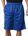 Badger Sport Men's Shorts: 100% Polyester Mesh/Tricot 9-Inch with Pockets (7219)