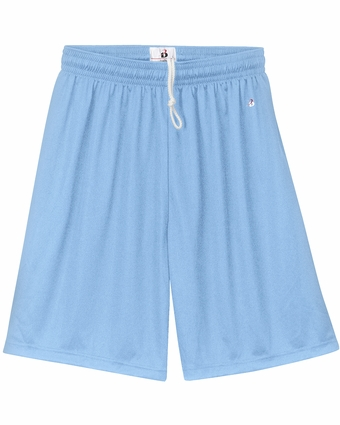 Badger Sport Men's Shorts: 100% Polyester Wicking Performance 9-Inch (4109)
