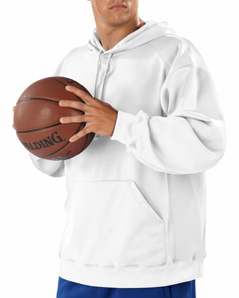 Badger Sport Men's Sweatshirt: 100% Polyester Fleece Wicking Performance BT5 Hooded (1454)