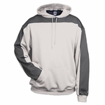 Badger Sport Men's Sweatshirt: 100% Polyester Two-Toned Defender Hooded Pullover (1466)