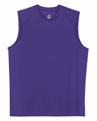 Badger Sport Men's T-Shirt: 100% Polyester Core Sleeveless (4130)