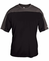 Badger Sport Men's T-Shirt: 100% Polyester Contrast Defender (4149)