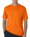 Badger Sport Men's T-Shirt: 100% Polyester B-Dry Core Short Sleeve (4120)