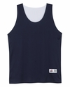 Badger Sport Men's Tank Top: 100% Polyester B-Dry Double Layer Reversible (4129)
