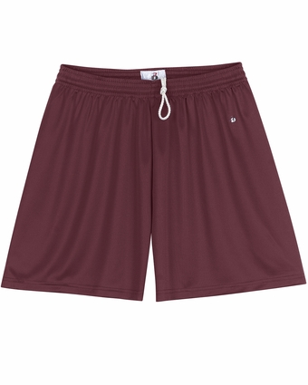 Badger Sport Women's Shorts: 100% Polyester B-Dry Core 5-Inch (4116)