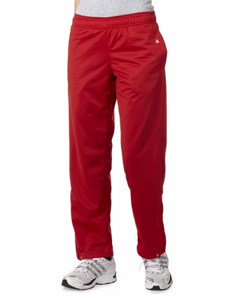Badger Sport Women's Sweatpants: 100% Polyester Brushed Tricot (7911)