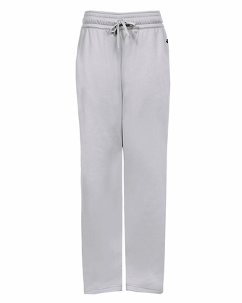 Badger Sport Women's Sweatpants: 100% Polyester Fleece Performance with Side Pockets (1470)