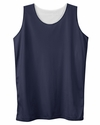 Badger Sport Women's Tank Top: 100% Polyester Mesh Double Layered Reversible (B8978)