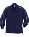Badger Sport Youth Jacket: 100% Polyester Brushed Tricot Razor Pocketed Full-Zip with Piping (B2701)