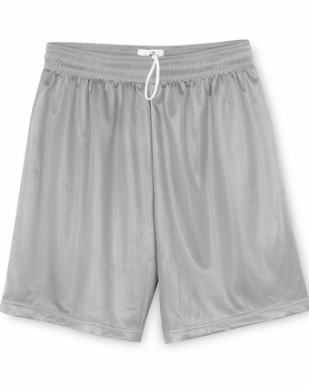 Badger Sport Youth Shorts: 100% Polyester Mini-Mesh 6-Inch (2237)