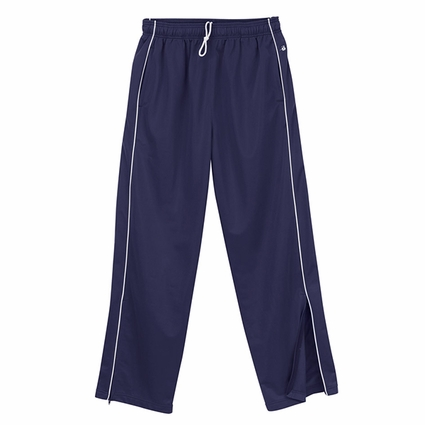 Badger Sport Youth Sweatpants: 100% Polyester Brushed Tricot Pocketed with Piping (B2710)