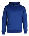 Badger Sport Youth Sweatshirt: 100% Polyester Performance Hooded (2454)