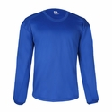 Badger Sport Youth Sweatshirt: 100% Polyester Fleece BT5 Performance Crew Neck (2453)