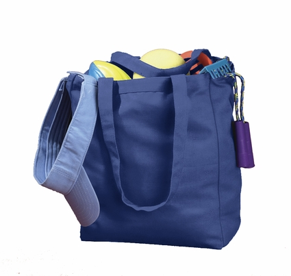 BAGedge Tote Bag: 100% Cotton Canvas Book (BE008)