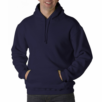 Bayside Men's Sweatshirt: USA-Made Hooded Fleece (B960)