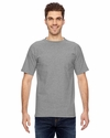 Bayside Men's T-Shirt: 100% Cotton Short-Sleeve Pocket (7100)