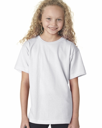 Bayside Youth T-Shirt: 100% Cotton Short-Sleeve (B4100)