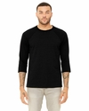 Bella + Canvas Unisex 3/4-Sleeve Baseball T-Shirt: (3200)