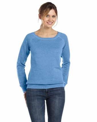 Bella Women's Sweatshirt: 8.2 oz. Mia Slouchy Wideneck Fleece (7501)