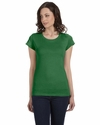 Bella Women's T-Shirt: 100% Cotton Sheer Jersey Short-Sleeve Longer Length (B8101)