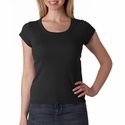 Bella Women's T-Shirt: 100% Cotton Short-Sleeve Scoop-Neck (B1003)