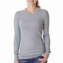 Bella Women's T-Shirt: 4.5 oz. Cotton/Spandex Long-Sleeve Thermal (B8500)