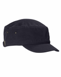 Big Accessories Cadet Cap: 100% Cotton Short Bill Cadet (BA501)