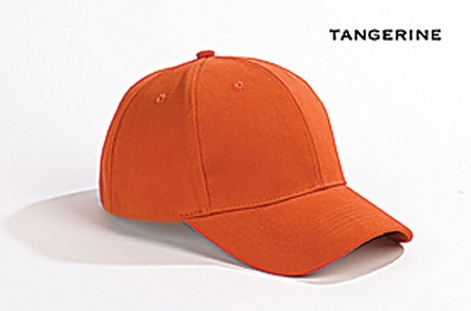 Big Accessories Cap: 100% Cotton 6-Panel Brushed Twill Structured (BX002)