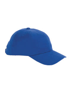 Big Accessories Cap: 100% Cotton 6-Panel Brushed Twill Unstructured (BX001)