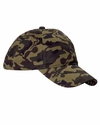 Big Accessories Cap: 100% Cotton Camouflage Unstructured (BX018)