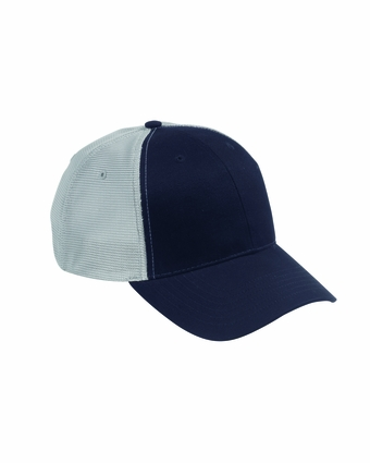 Big Accessories Cap: 100% Cotton Old School Baseball with Technical Mesh (OSTM)