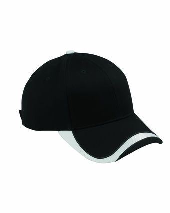 Big Accessories Cap: 100% Cotton Sport Wave Baseball (SWTB)