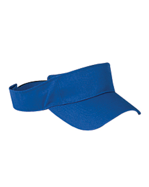 Big Accessories Visor: 100% Cotton Twill (BX006)