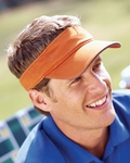 Big Accessories Visor: 100% Cotton Washed Twill Sandwich (BT3V)